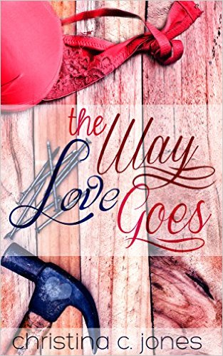 Cover Art for THE WAY LOVE GOES by Christina C. Jones