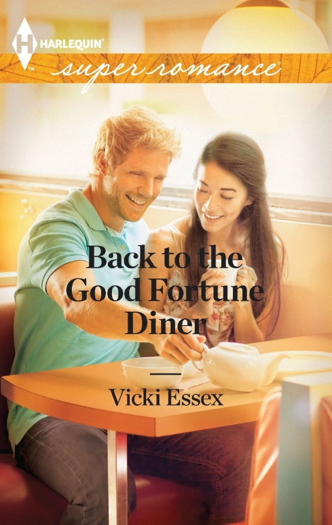 Cover Art for BACK TO THE GOOD FORTUNE DINER by Vicki Essex