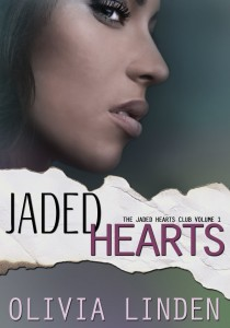 Cover Art for JADED HEARTS by Olivia Linden