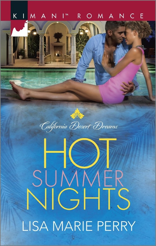 Cover Art for HOT SUMMER NIGHTS by Lisa Marie Perry