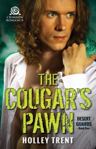 Cover Art for THE COUGAR'S PAWN by Holley Trent