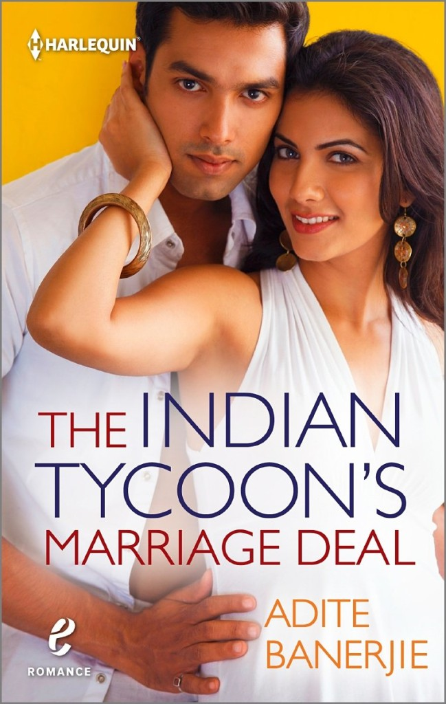 Cover Art for THE INDIAN TYCOON'S MARRIAGE DEAL by Adite Banerjie