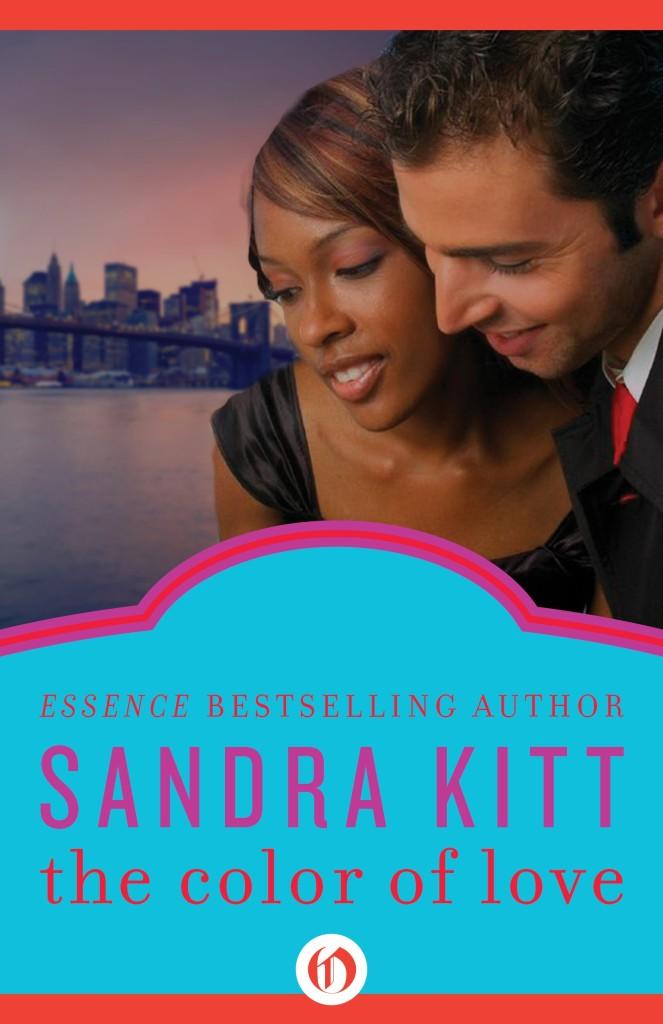 Cover Art for THE COLOR OF LOVE by Sandra Kitt