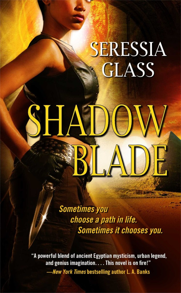 Cover Art for SHADOW BLADE by Seressia Glass
