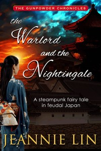 Cover Art for THE WARLORD AND THE NIGHTINGALE by Jeannie Lin