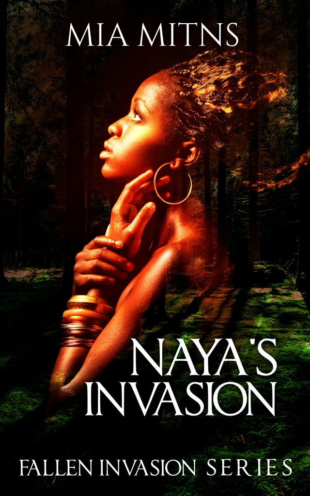 Cover Art for NAYA'S INVASION by Mia Mitns