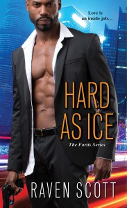 Cover Art for HARD AS ICE by Raven Scott