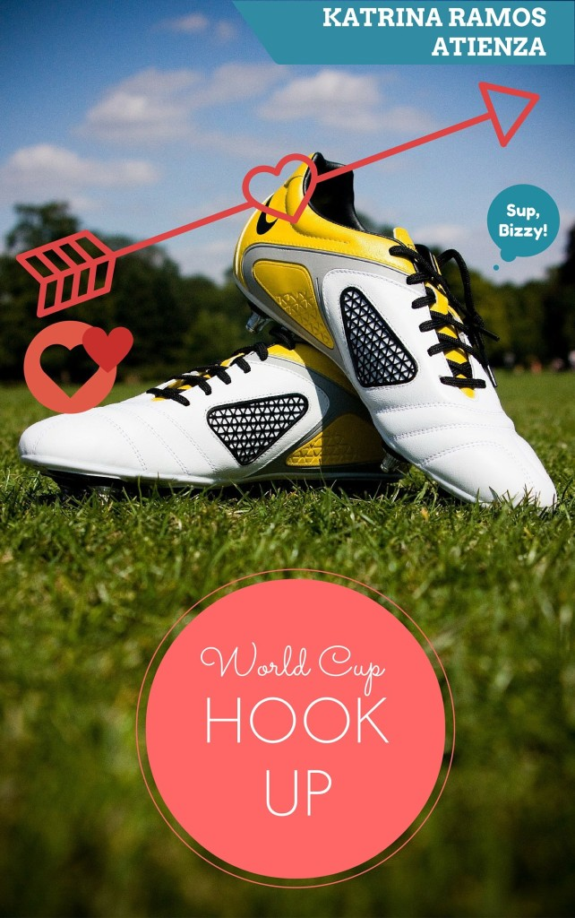 Cover Art for WORLD CUP HOOK-UP by Katrina Ramos Atienza