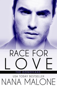 Cover Art for RACE FOR LOVE by Nana Malone