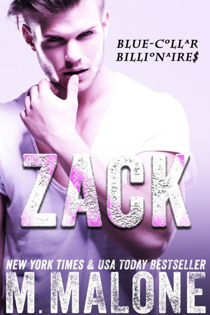 Cover Art for ZACK by Minx Malone