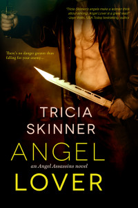 Cover Art for ANGEL LOVER by Tricia Skinner