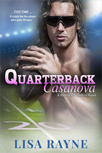 Cover Art for Quarterback Casanova by Lisa Rayne