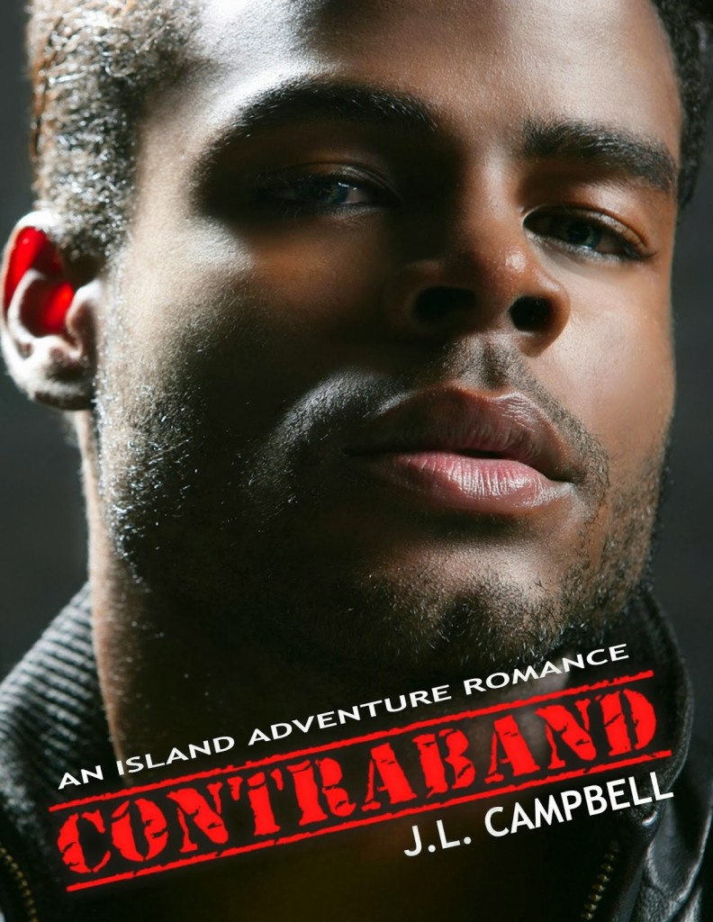 Cover Art for CONTRABAND by J.L. Campbell