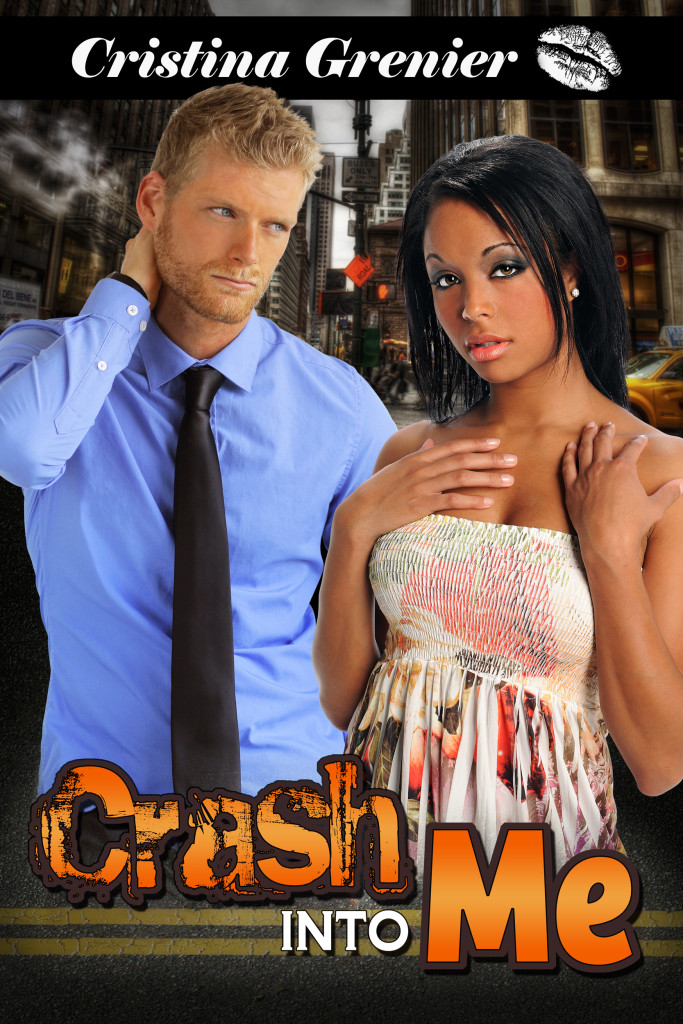 Cover Art for CRASH INTO ME by Christina Grenier