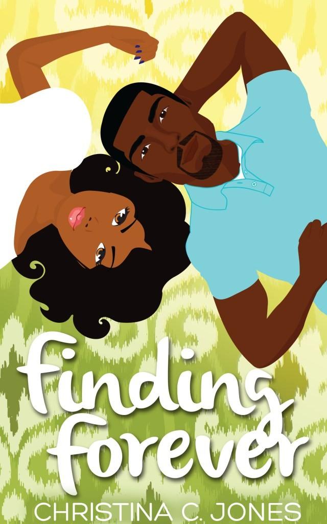 Cover Art for FINDING FOREVER by Christina C. Jones