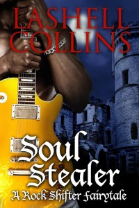 Cover Art for SOUL STEALER by Lashell Collins