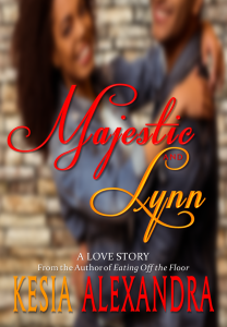 Cover Art for Majestic and Lynn by Kesia Alexandra