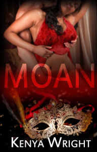 Cover Art for Moan by Kenya Wright