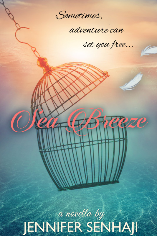 Cover Art for SEA BREEZE by Jennifer Senhaji