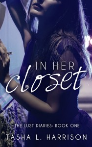 Cover Art for IN HER CLOSET by Tasha L. Harrison