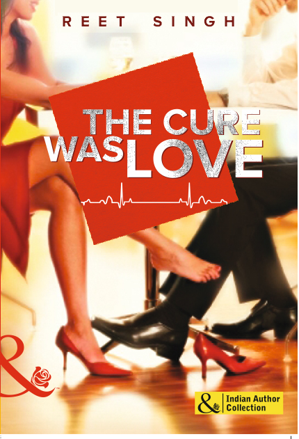 Cover Art for THE CURE WAS LOVE by Reet Singh