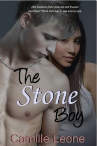 Cover Art for The Stone Boy by Camille Leone