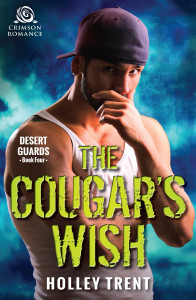 Cover Art for The Cougar's Wish by Holley Trent