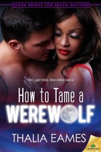 Cover Art for How to Tame a Werewolf by Thalia Eames
