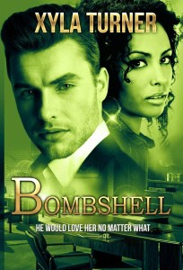 Cover Art for BOMBSHELL by Xyla Turner