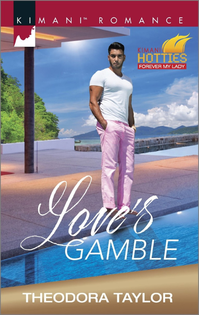 Cover Art for LOVE'S GAMBLE by Theodora Taylor