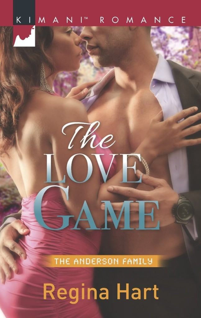 Cover Art for THE LOVE GAME by Regina Hart
