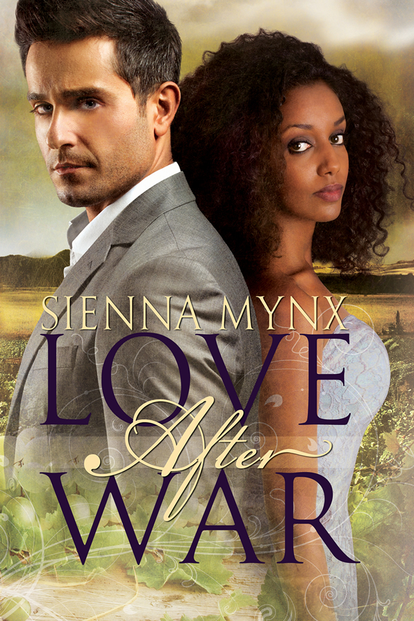 Cover Art for LOVE AFTER WAR by Sienna Mynx