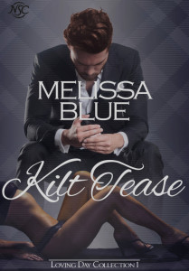 Cover Art for KILT TEASE by Melissa Blue