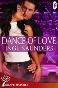Cover Art for DANCE OF LOVE by Inge Saunders