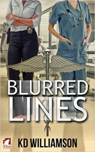 Cover Art for Blurred Lines by KD Williamson