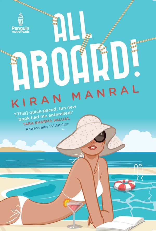 Cover Art for ALL ABOARD! by Kiran Manral