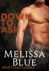 Cover Art for Down to Ash by Melissa Blue