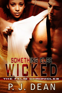 Cover Art for SOMETHING ELSE WICKED by P. J. Dean