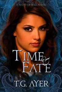 Cover Art for TIME & FATE by T.G. Ayer