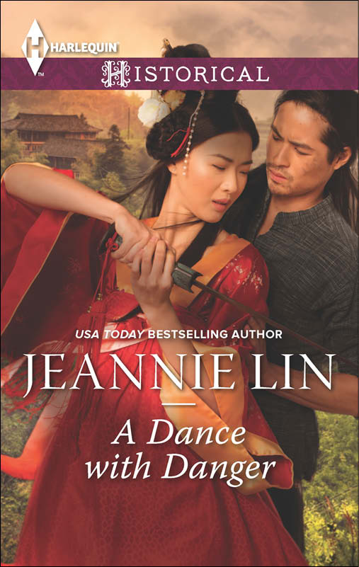 Cover Art for A DANCE WITH DANGER by Jeannie Lin