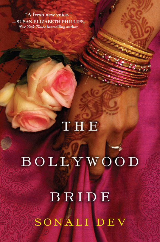 Cover Art for THE BOLLYWOOD BRIDE by Sonali Dev