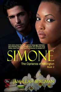 Cover Art for SIMONE by Jamallah Bergman