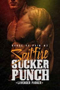 Cover Art for SPITFIRE SUCKERPUNCH by Lavender Parker