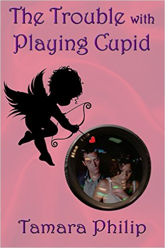 Cover Art for THE TROUBLE WITH PLAYING CUPID by Tamara Philip