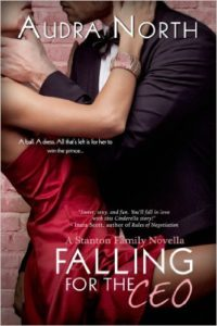 Cover Art for FALLING FOR THE CEO by Audra North
