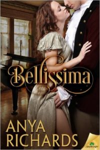 Cover Art for BELLISSIMA by Anya Richards
