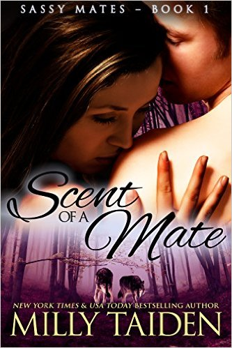 Cover Art for SCENT OF A MATE by Milly Taiden