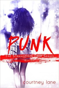 Cover Art for PUNK by Courtney Lane