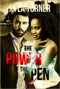 Cover Art for POWER OF THE PEN by Xyla Turner