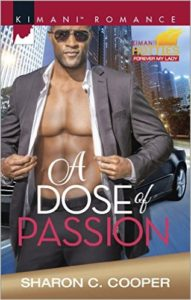Cover Art for A DOSE OF PASSION by Sharon C. Cooper